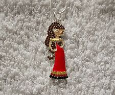 DISNEY BEAUTY & The BEAST MOVIE Inspired Large Charm NECKLACE Christmas BELLE