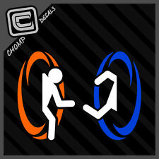 Portal Half Life Gamer Geek Nerd Vinyl Decals Stickers