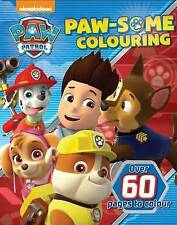 Nickelodeon Paw Patrol Paw-Some Colouring by Parragon Book Paperback