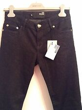 BNWT 100% auth Moschino Skinny Jeans With Gold Tread. 26 RRP £280