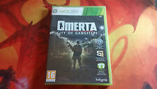 OMERTA CITY OF GANGSTERS PRECINTADO SEALED XBOX 360 ENVÍO 24/48H