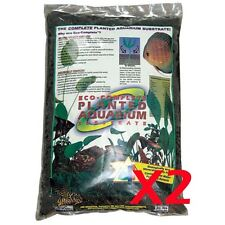 Eco-Complete Planted Aquarium Substrate 20 lbs.Planted Black, CaribSea 2Pack