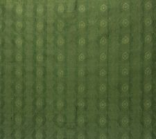 "DUPIONI SILK SHALIMAR BARLEY GREEN S3015 GEOMETRIC TRELLIS FABRIC BY YARD 54""W"