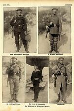 Die (Uniformen) der Marine in Blau und Grau 1916 *  WW1
