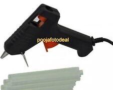 Professional 40 Watt Brand New Hot Melt Glue Gun with 5 Pieces Big Glue Sticks