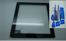 BRAND NEW IPAD 3 4  DIGITIZER , TOUCH SCREEN,FRONT GLASS BLACK ,3M ADHESIVES
