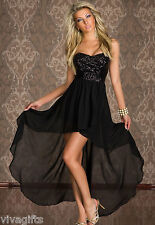 Ladies Sequin Formal Strapless Prom Dress for Christmas!