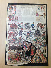 SCARCE A CUT-OUT CIRCUS FOR CHILDREN PART IV PAPER DOLLS DURAND CHAPMAN