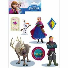 DISNEY FROZEN WALL STICKERS - 14 PIECES - NEW & OFFICIAL BEDROOM