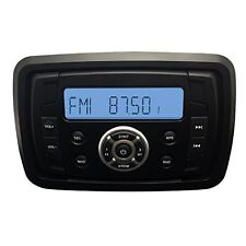 AUTORADIO MARINO IMPERMEABILE BARCA Radio FM DAB USB MP3 AUX BT TONDO 4x45W