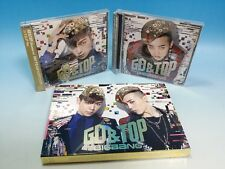 CD+DVD BIGBANG GD&TOP OH YEAH JAPAN First Limited Edition SET G-Dragon T.O.P