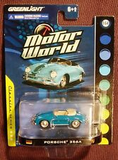 Greenlight 1:64 Motor World Classics Series Porsche 356A Blue
