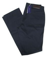 $395 Ralph Lauren Purple Label Mens Navy Beige Brown Italy Casual Pants New