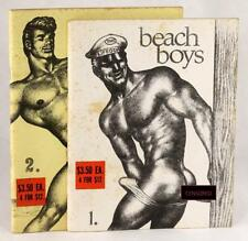BEACH BOYS #1 #2 TOM OF FINLAND ROUGH TRADE HOMOSEXUAL LEATHERMAN FETISH ART