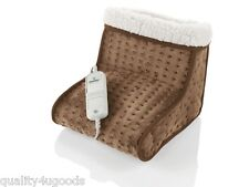 ELECTRIC FOOT WARMER FEET HEATER 6 TEMP SETTINGS COSY BNIB