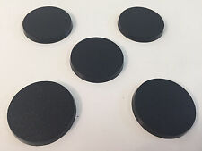 Lot Of 5 40mm Round Bases For Warhammer 40k Games Workshop Terminator Bits #1