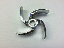 C328 Impeller (S328-02C-316L, 316L); Replaces Alfa Laval Part# 483814