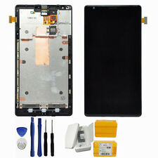Black For Nokia Lumia 1520 LCD Display Touch Screen Digitizer Assembly + Tools