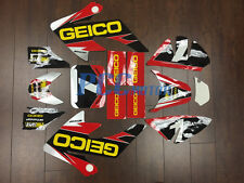 GEICO GRAPHICS DECAL STICKERS KIT HONDA CRF50 CRF 50 F 2004-2014 SDG SSR H DE65