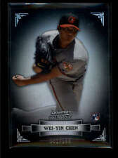 WEI-YIN CHEN 2012 BOWMAN STERLING REFRACTOR ROOKIE RC #061/199 AB7041