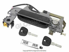 BMW E36.7 Z3 (1996-2002) Outside Door Handle Assembly with Key (Black) LEFT