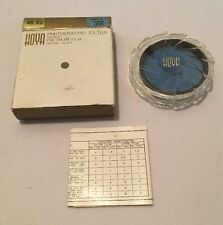 Hoya 48.0s Type D Flood Glass Colored Lens Filter 80B Blue Japan NOS