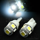 2x Error Free 6000K White LED License Plate/Interior Light Bulbs/Bulb 5-LED