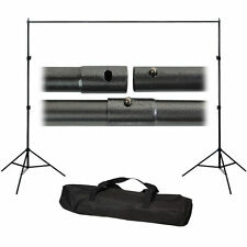 Photography 10Ft Adjustable Background Support Stand Photo Backdrop Crossbar set