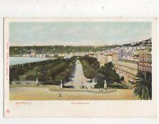Napoli Villa Nazionale Italy Vintage U/B Postcard Trenkler 385b