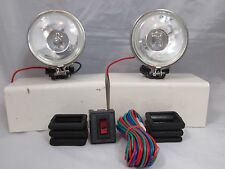 "UNIVERSAL 3.5"" 12V H3 55W ROUND FOG LIGHTS DRIVING LAMPS  KIT TRUCK CAR SUV"