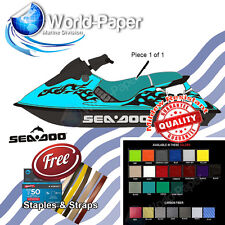 SP SPX SEA DOO TEAL Seat Skin Cover 94 95 1994 1995 Various Colors :)