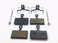 Shimano BR M615 M666 M675 M785 M985 Semi Metallic Brake Pads INC PINS - 2 pairs