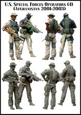 1:35 SCALE RESIN KIT MILITARY US SPECIAL FORCES in Afghanistan(2 Figures)