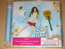 CD / ZOE AVRIL / ON NE CHANGERA PAS LE MONDE / NEUF SOUS CELLO