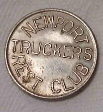 old Token Good For 5 Cents Newport Mn Truckers Club Minnesota