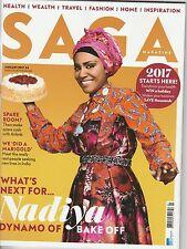 Saga Magazine - January 2017 - Nadiya Bake Off