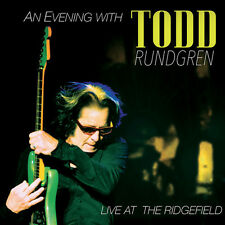 Evening With Todd Rundgren-Live At The Ridgefield (2016, Blu-ray NEUF)