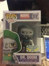 Funko Pop Metallic Dr. Doom Bangkok Convention 2014 Exclusive #17 Marvel Vinyl