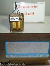Teknik enL 17531  trafo transformator  prim 4000v 160VA