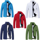 Men's Casual Warm Coat Thick Padded Jacket Winter Slim Outcoat Outwear Clothing