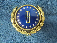 1982-86 LINCOLN CONTINENTAL  ROOF SAIL PANEL  EMBLEM ORNAMENT  NOS FORD 117