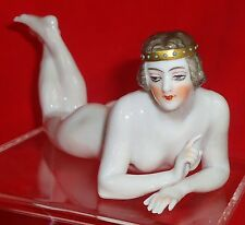 MARVELLOUS NUDE  MEDIEVALE GARCONNE  HALF DOLL RELATED DRESSEL AND KISTER