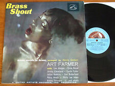 RARE LP ART FARMER TENTET/BRASS SHOUT/FRENCH FIRST PRESS 1959/GREAT CONDITION NM