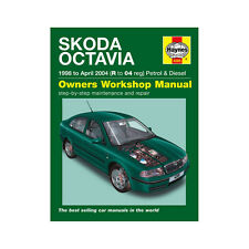 Skoda Octavia 1.4 1.6 1.8 2.0 Petrol 1.9 Dsl 98-04 (R to 04 Reg) Haynes Manual