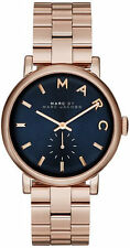 Women's Rose Gold-Tone Marc Jacobs Baker Watch MBM3330