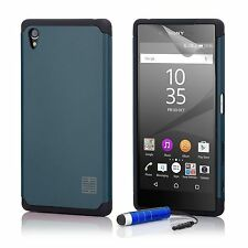Slim Armour Shockproof Case Cover Sony Xperia Phones + Screen Protector & Stylus