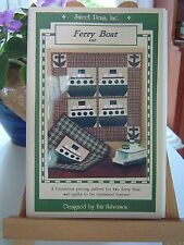 Ferry Boat Quilt pattern, Wall Quilt Patterns, foundation pieced. by Sweet Peas
