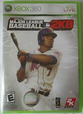 XBOX 360 - MAJOR LEAGUE BASEBALL 2K8 VIDEO GAME - BRAND NEW