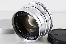 【AB- Exc】 FUJINON 35mm f/2 Lens for Leica L39 Screw w/Case 3.5cm 35/2 JAPAN#1274