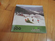JIGSAW PUZZLE 1500 PCS COUNTRY CHRISTMAS HALLMARK UNOPENED MINT free shipping